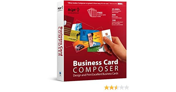 Amazon business card composer mac reheart Gallery