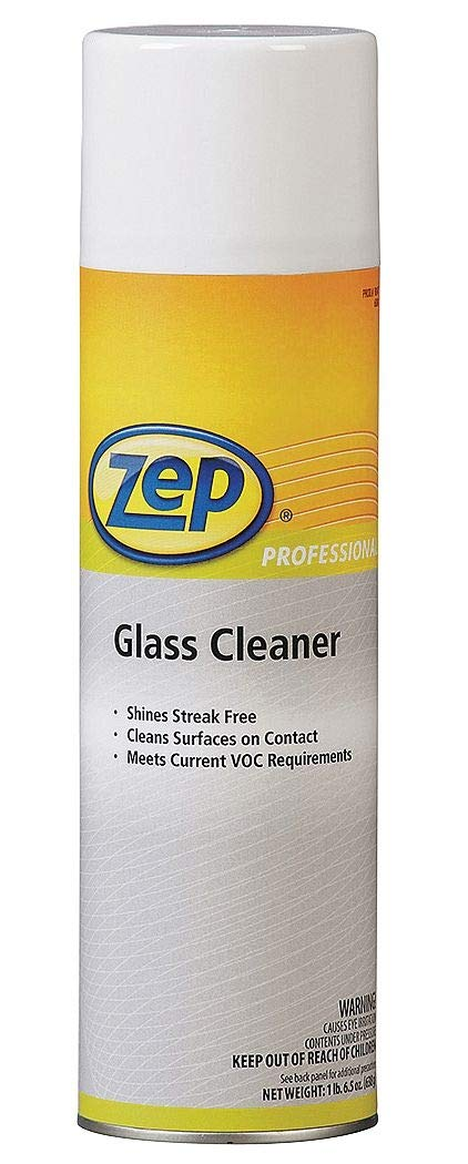 Zep Professional 20 oz. Glass Cleaner, 1 EA - R04701 ( Pack of 5 )