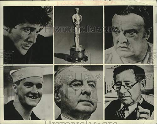 1974 Press Photo Oscars - Nominees for Best Performance by Actor Supporting Role - Historic Images