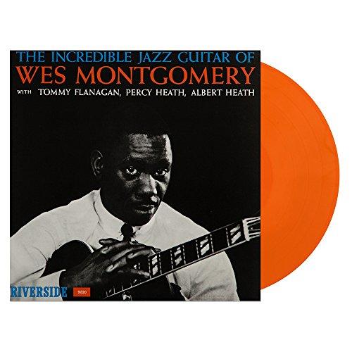 The Incredible Jazz Guitar of Wes Montgomery Orange Vinyl (Vinyl Guitar)