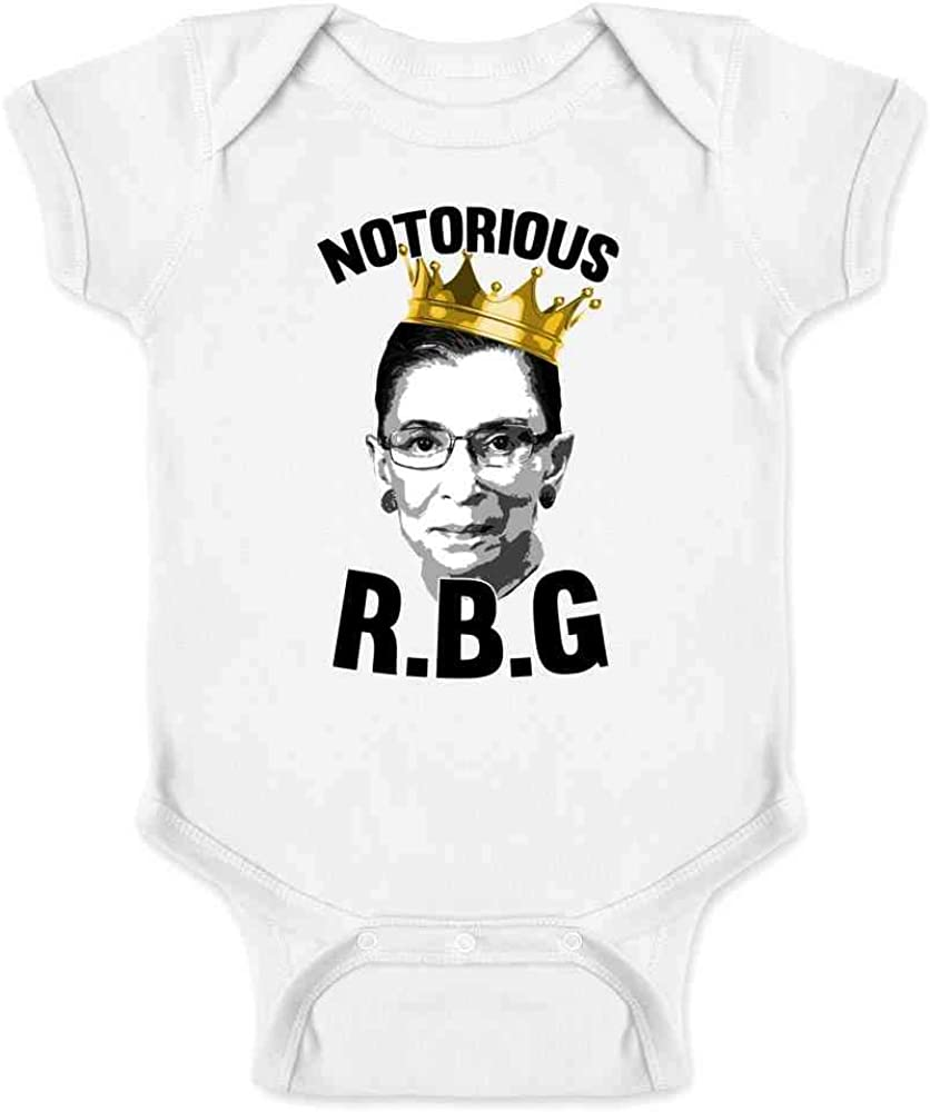 Notorious R.B.G RBG Supreme Court Political Infant Bodysuit