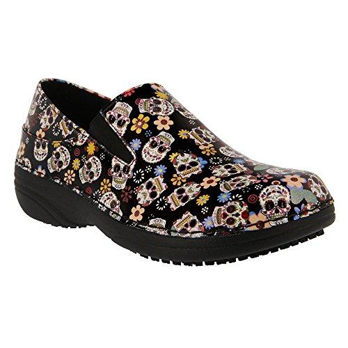 Spring Step Women's Ferrara Work Shoe Black Small Skulls outlet newest WirWwYf8s