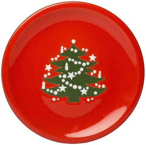 Amazon.com | Waechtersbach Christmas Tree 4-Piece Dinnerware Set Service for 1 Dinnerware Sets  sc 1 st  Amazon.com & Amazon.com | Waechtersbach Christmas Tree 4-Piece Dinnerware Set ...