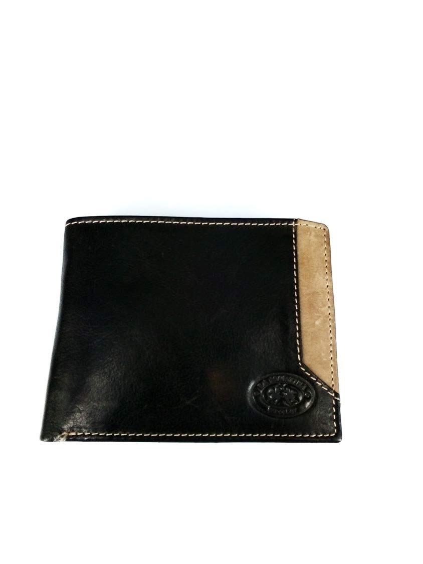 La Martina Bonaerense Geldbörse Portemonnaie Leder Damen 18 cm black