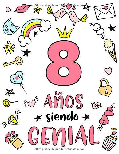 Amazon.com: 8 Años Siendo Genial: Regalo de Cumpleaños 8 ...
