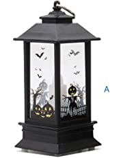 Iusun Halloween Candle Light, 1PC Pattern Candles Light for Halloween Party Home Garden Lawn Yard Decoration (A)