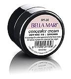 Bella Mari Natural Concealer Cream, Light Rose; 0.5floz