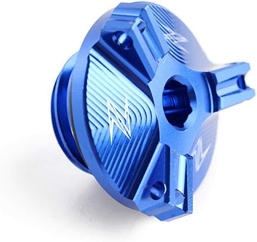 2,5 Motorrad CNC-Aluminium-Motor/ölfilter Cup-Stecker-Abdeckung Schraube for Kawasaki Z 1000 Z1000SX Z900 Z800 Z650 JDDRCASE M20