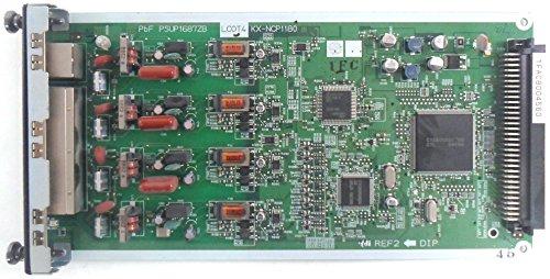 Panasonic KX-NCP1180 4-Port Analog Trunk Card (LCOT4) (4 Port Analog Line Card)