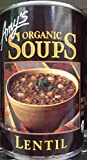 Amy's Organic Soups Lentil 14.5oz Can (Pack of 8)