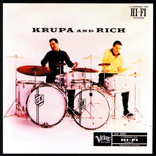 Krupa & Rich (w/Gillespie, Jacquet, Peterson) by EMI Latin