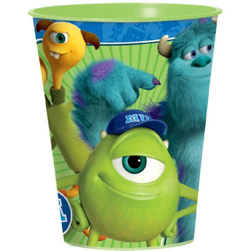 Monsters University 16 oz Plastic Party Cup, Party Supplies