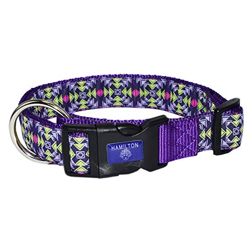 Adjustable Hamilton Collar Nylon Dog - Hamilton 1