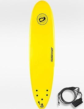 Osprey - Tabla de surf para principiantes (espuma, 2,4 m), color amarillo: Amazon.es: Deportes y aire libre