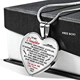 John-dhh to My Daughter Necklaces Pendants - Father and Daughter Necklace - Gift from Daddy - Luxury Necklace Silver On Birthday, Anniversary - Includes Gift Box!