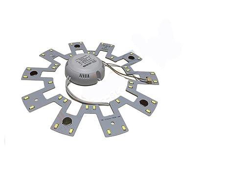Plafoniere Con Circolina : Takestop® circolina led plafoniera disco neon anello circolare 18w