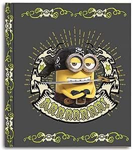 Grupo Erik Editores 4 Anillas Minions Piratas - Carpeta,