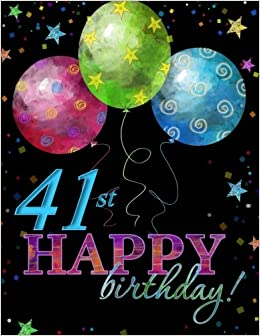 Celebration Album 41st Birthday Party Supplies In All Dep Decorations D Card Gifts For