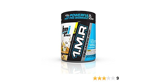 Amazon Com Bpi Sports 1mr One More Rep Ultra Concentrated Energy Supplement Health Household