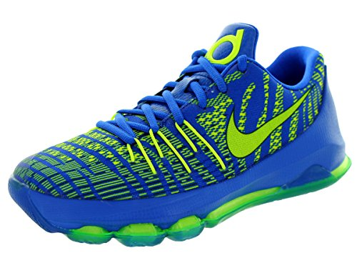 Nike - Zapatillas de running Air Max Trax , Hombre , Negro (Black/Fierce Green-Dark Grey 006) hyper cobalt, volt-dp ryl blue