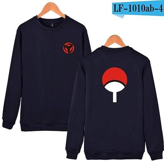 WEEKEND SHOP Hoodie Naruto Anime Hoodies Sweatshirts Hoodies Men Uchiha Syaringan Clothes Navy Blue