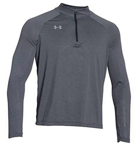 Under Armour Men's Stripe Tech 1/4 Zip Pullover