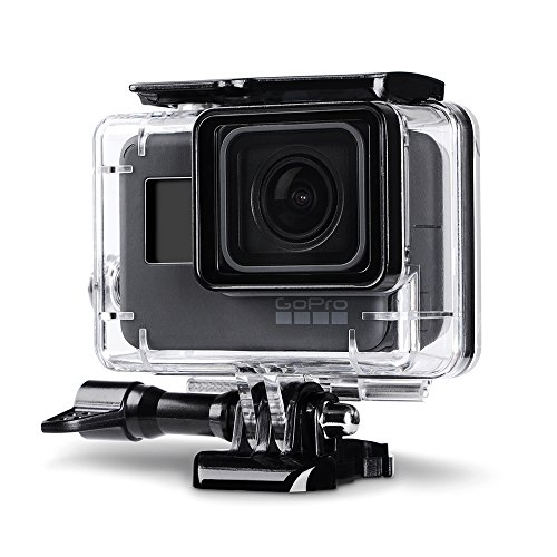 Trehapuva Underwater Housing Case for GoPro Hero (2018) / GoPro Hero 6/5 Black Waterproof Case Diving Protective Housing Shell Replacement Cover with Bracket for Go Pro Camera Accessories