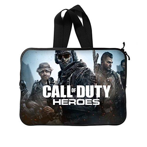 JIUDUIDODO Shooting Games Call of Duty Neoprene Laptop Sleeve 10