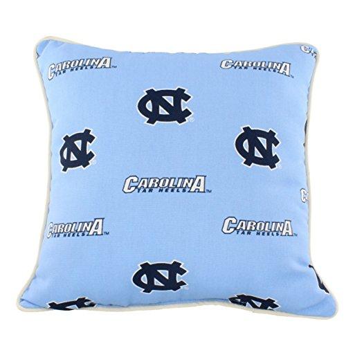 College Covers North Carolina Tar Heels Outdoor Decorative Throw Pillow, 16