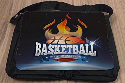 Borsa Tracolla Retro Campionato di pallacanestro Stampato