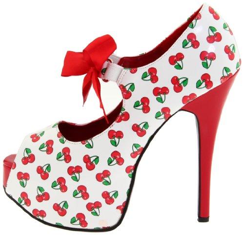 40 Alto Plataforma Pinup uk 7 eu Mujer Zapatos 42 De 25 us 41 36 Tacón Tamaño 3 10 Sexy Teeze Us damen Couture qxw8Bq1vT