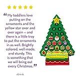 Melissa & Doug Countdown to Christmas Wooden Advent