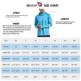 BALEAF Men's Long Sleeve Hoodie Shirts UPF 50+ Sun