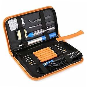 INTEY 13 N1 Kit De Soldador Para Producción De Electrónica, Mantenimiento Eléctrico Temperatura Ajustable 60