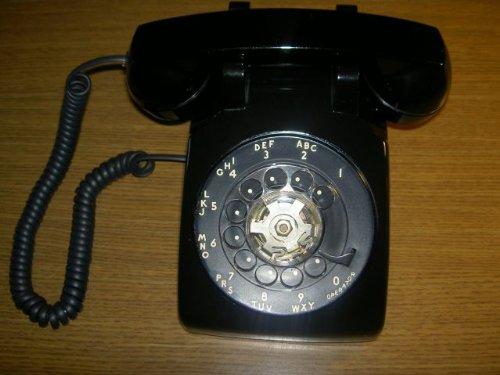 Western Electric Rotary Phone - 7