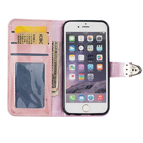 Uming® Dibujo de estampado liso Patrón de la serie de caja de la PU de la pistolera Caso Holster case ( White Metal Button - para Samsung Galaxy Note5 N920 N9200 ) de cuero artificial del tirón con el Pink Metal Button