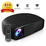 Best Video Projectors - HD Projector 4000 Lumens, GBTIGER High Brightness Home Review