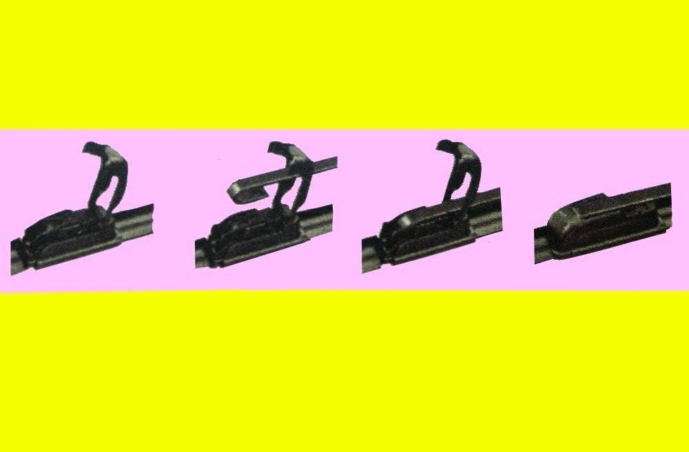 AERZETIX 45cm Jeu de 2 balais dessuie-Glace Avant 53cm