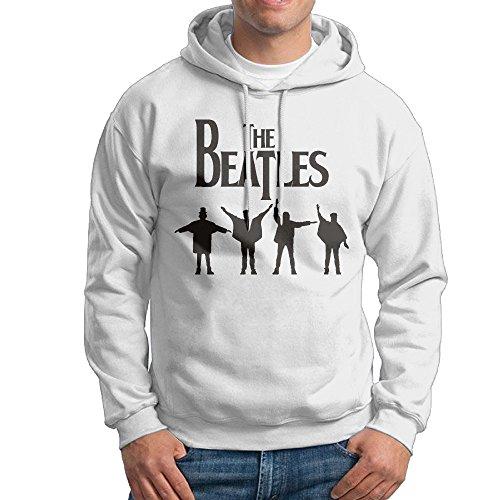 Lightweight 80's Juniors Men The Beatles Logo X-Large Hoodie
