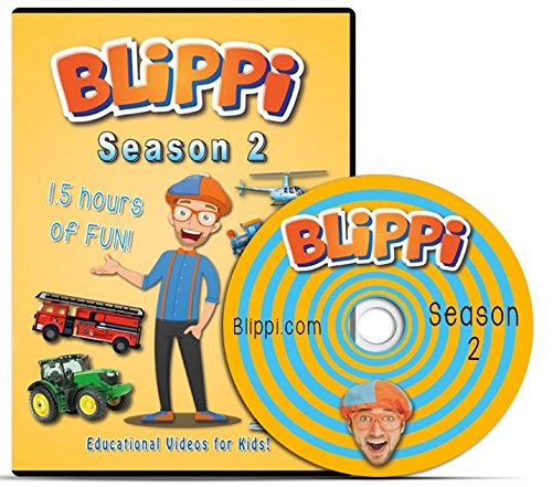 Blippi - Season 2 DVD - Educational Videos for -