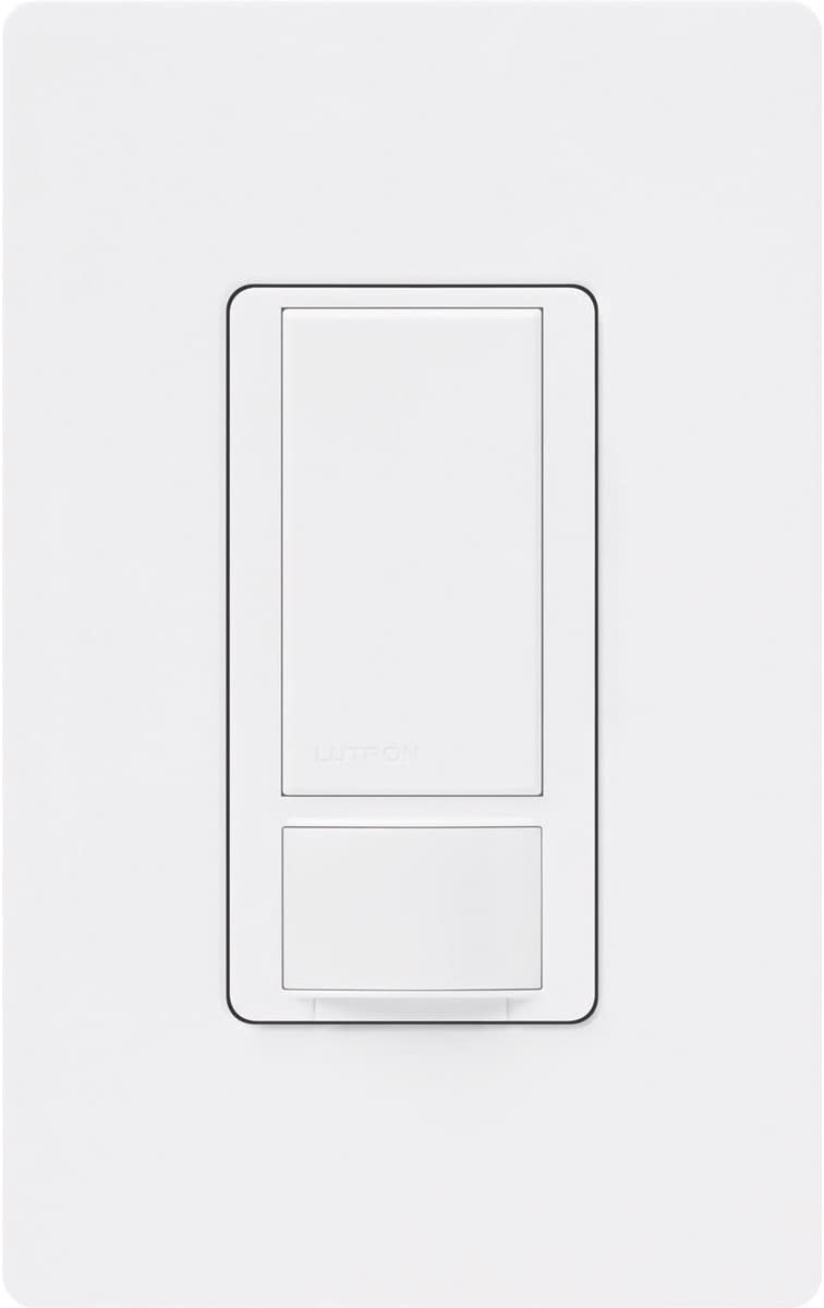Lutron MS-OPS2HW-WH Maestro 2-Amp Occupancy Sensing Switch, White