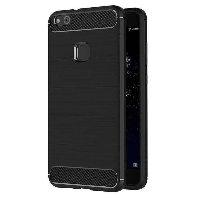 51 opinioni per iVoler Cover Huawei P10 Lite, Nero Custodia Huawei P10 Lite [Slim Anti Scivolo]