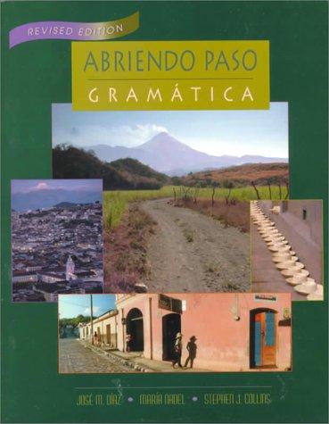 Abriendo Paso: Gramatica -