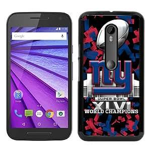 New York Giants 09 Black Special Custom Picture Design Motorola Moto G 3rd Generation Phone Case