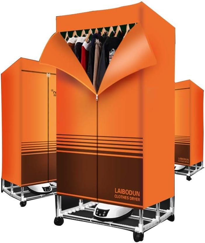 Secador de ropa-secador de pelo rápido seco-ropa portátil secadora ropa plegable tendedero de secado de ahorro de energía,Orange: Amazon.es: Hogar