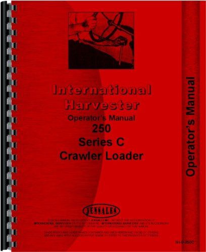 International Harvester 250C Crawler Operators Manual PDF