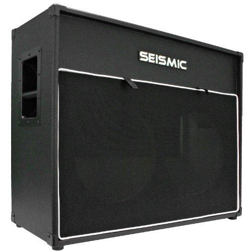 Vintage Speaker Cabinets - Seismic Audio - 2x12 GUITAR SPEAKER CABINET EMPTY - 7 Ply Birch - 12