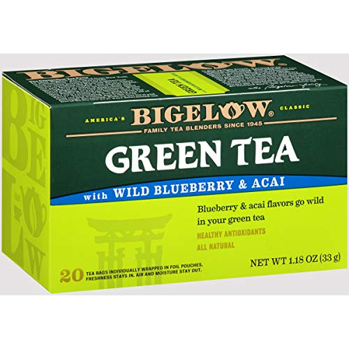 Bigelow Green Tea With Wild Blueberry & Acai - 20 CT