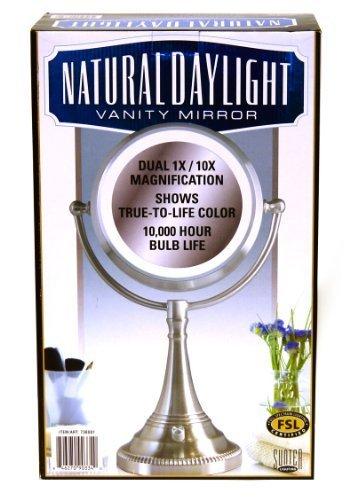 Amazon sunter natural daylight vanity makeup mirror by sunter sunter natural daylight vanity makeup mirror by sunter aloadofball Choice Image