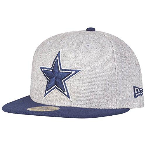 代理店酸化する皮肉ニューエラ (New Era) 59フィフティ キャップ - ヘザー ダラス?カウボーイズ (Dallas Cowboys) グレー/ネイビー